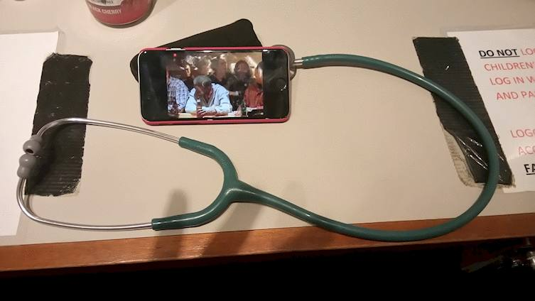 stethoscope headphone